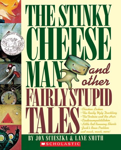 The Stinky Cheese Man and Other Fairly Stupid Tales cover