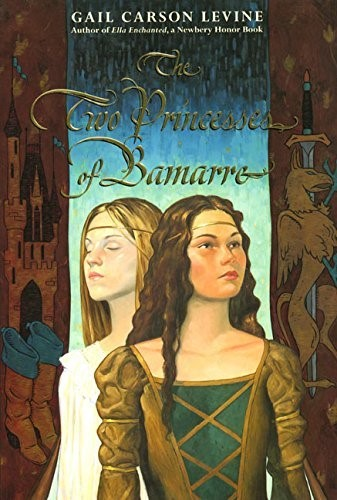The Two Princesses of Bamarre cover